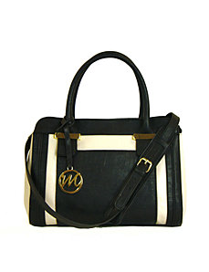 Sheila Satchel w/ Detachable Shoulder Strap by Emilie M