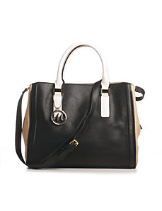Casey Compartment Satchel by Emilie M
