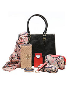 Morgan Tote + 6pc Essentials Box by Emilie M