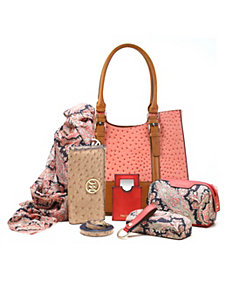 Jane Double Shoulder Tote + 5pc Essentials Box by Emilie M