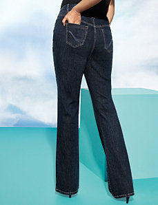 Genius Fit™ straight leg jean by LANE BRYANT