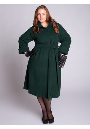 Taylor Coat in Forest Green