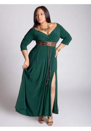 Rebecca Gown in Evergreen