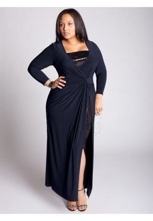 Michelle Gown in Navy