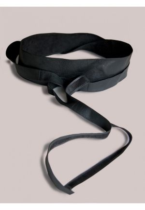 Obi Belt in Black