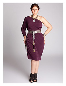 Kaori Infinity Dress in Plum by IGIGI by Yuliya Raquel