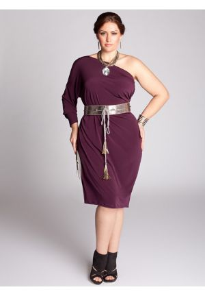 Kaori Infinity Dress in Plum
