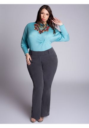 Trina Pants in Charcoal