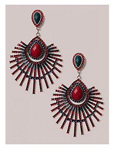 Catalina Earrings in Ruby by IGIGI