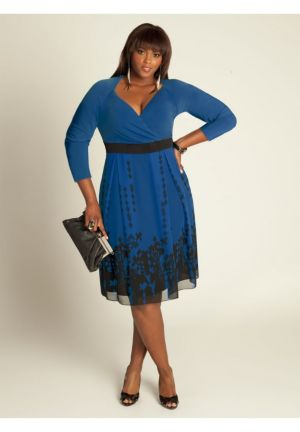 Deco Dress in French Blue