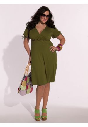 Angie Dress in Olive