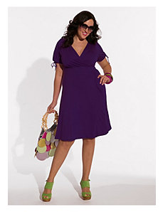 Angie Dress in Mulberry Purple by IGIGI by Yuliya Raquel