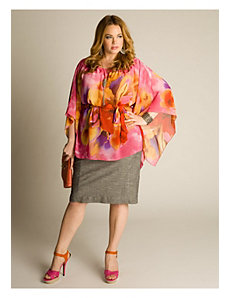 Kali Tropical Flower Tunic by IGIGI by Yuliya Raquel