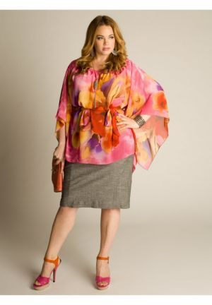 Kali Tropical Flower Tunic