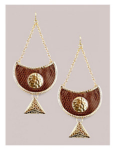 Sveta Earrings in Chocolate by IGIGI by Yuliya Raquel