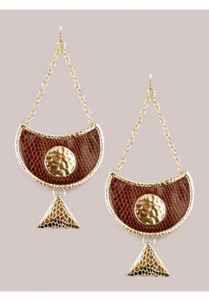 Sveta Earrings in Chocolate