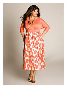 Katelyn Dress in Tahiti Coral by IGIGI by Yuliya Raquel