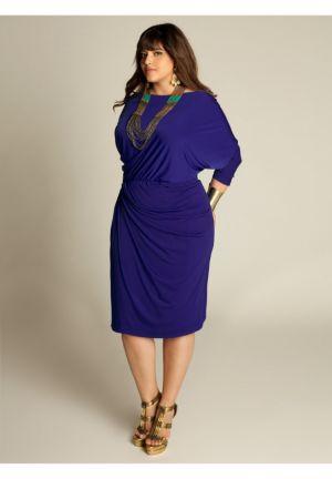 Mara Dress in Imperial Blue