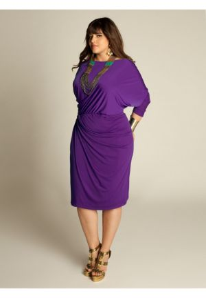 Mara Dress in Majesty Purple