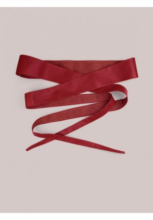 Obi Belt in Red