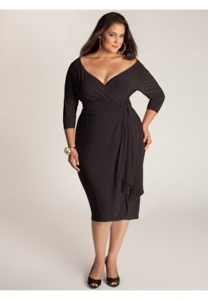 Marcelle Cocktail Dress in Black