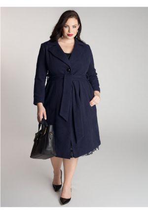 Hanna Coat in Navy Blue