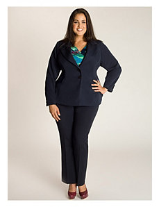 Monroe Jacket in Navy Blue by IGIGI