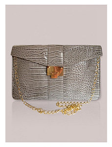 Monaco Clutch in Dove by IGIGI by Yuliya Raquel