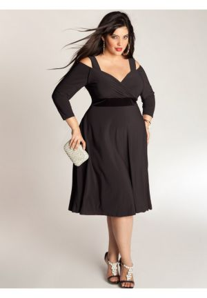 Siren Dress in Black