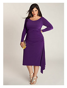 Milan Dress in Amethyst by IGIGI by Yuliya Raquel