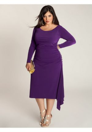 Milan Dress in Amethyst