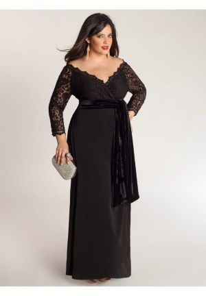Anastasia Gown in Onyx