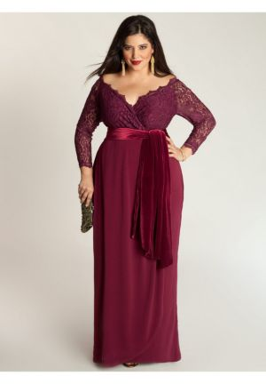Anastasia Gown in Ruby