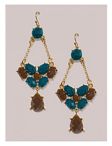 Tilly Earrings in Turquoise by IGIGI by Yuliya Raquel