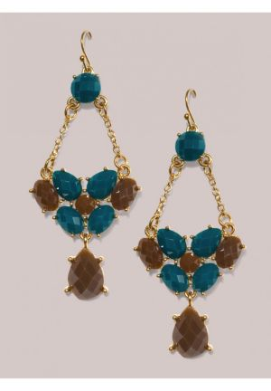 Tilly Earrings in Turquoise
