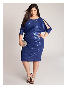 Margaux Dress in Electric Blue by IGIGI