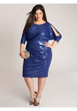 Margaux Dress in Electric Blue