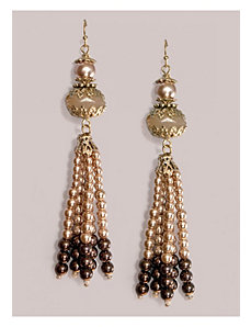 Esta Earrings in Mocha by IGIGI by Yuliya Raquel