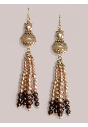 Esta Earrings in Mocha