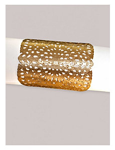 Botanical Bloom Cuff in Gold by IGIGI by Yuliya Raquel