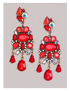 Carrie Earrings in Coral Red by IGIGI by Yuliya Raquel