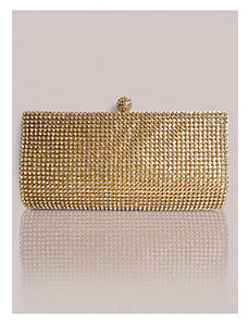 Fiona Clutch in Gold by IGIGI by Yuliya Raquel