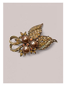 Deidre Brooch in Bronze by IGIGI by Yuliya Raquel