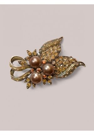 Deidre Brooch in Bronze