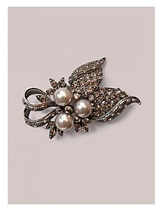 Deidre Brooch in Pewter by IGIGI by Yuliya Raquel