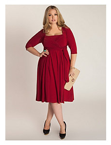 Ninelle Dress in Crimson by IGIGI by Yuliya Raquel