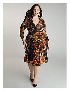 Bentley Wrap Dress by IGIGI