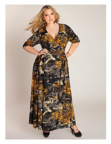 Danette Wrap Dress by IGIGI