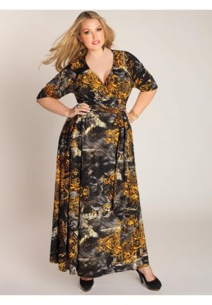 Danette Wrap Dress