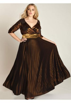 Antoinette Gown in Copper